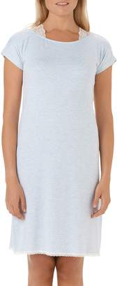 The White Company Lace Shoulder Nightgown