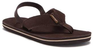 Reef Classic Suede Slingback Sandal (Toddler & Little Kid)