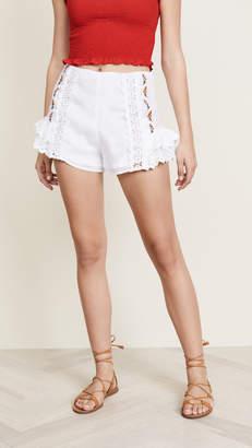 Rahi Dreamcatcher Embroidered Shorts