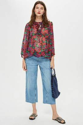 """Topshop **Maternity Awkward Cropped Jeans 32"""""""