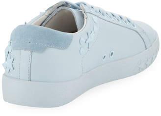 Ash Dazed Star-Studded Monochrome Sneakers