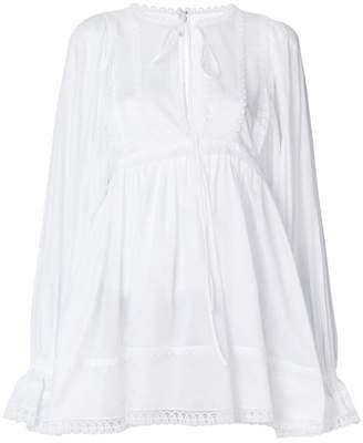 Dolce & Gabbana flared peasant blouse