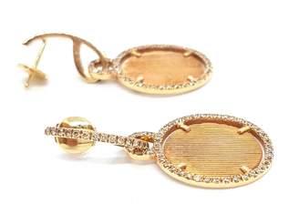Eternamé Gold Pink gold Earrings