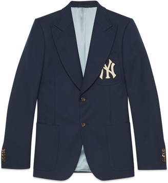 Gucci Twill jacket with NY YankeesTM patch