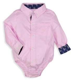 Andy & Evan Baby Boy's Gingham Cotton Bodysuit
