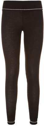 S'no Queen Glitter Stripe Thermal Leggings