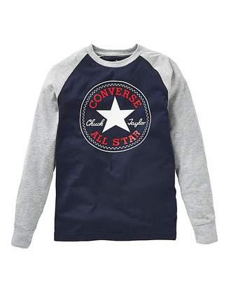 1b1f6d72e11b Converse Boys Chuck Patch Raglan T-Shirt