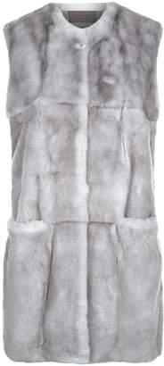 D-Exterior D.Exterior Rabbit Fur Gilet