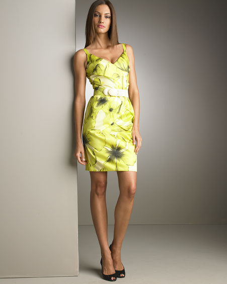 Versace Sleeveless Silk Dress