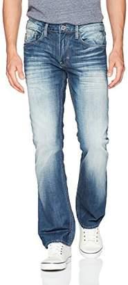 Buffalo David Bitton Men's King Slim Boot Leg Non-Stretch Denim Fashion Pant