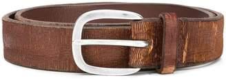 Orciani distressed finish belt