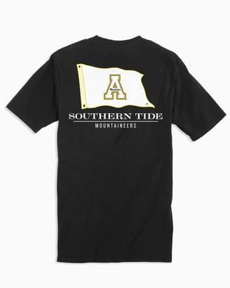Southern Tide Gameday Nautical Flags T-shirt - Appalachian State University