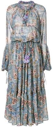 DAY Birger et Mikkelsen Anjuna floral-print midi peasant dress
