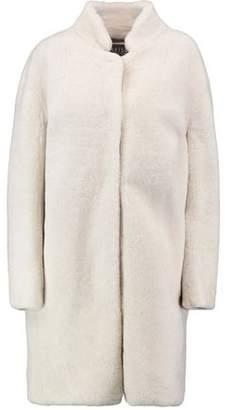 COM Yves Salomon Meteo Shearling Jacket