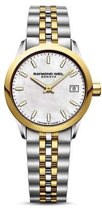 Raymond Weil Freelancer Two-Tone Watch, 26mm