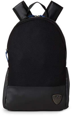 Emporio Armani Ea7 Black Train Soccer Backpack