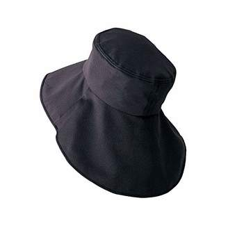 いろいろ使える首筋ガード帽子(虫よけネット付き) レディース UVカット 日よけ ガーデニングハット つば広