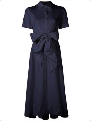 P.A.R.O.S.H. tie waist shirt dress