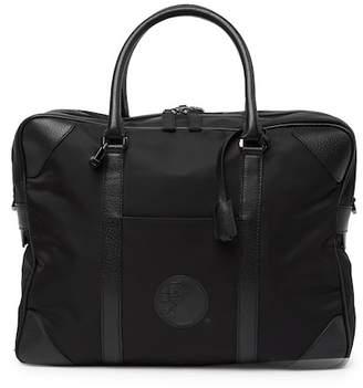 Versace Nylon & Leather Weekend Bag