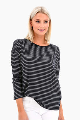 Vince Pencil Striped Relaxed Tee