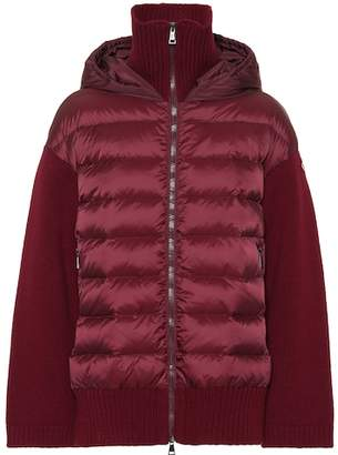 Moncler Combo puffer jacket