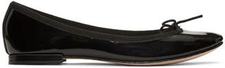 Repetto Black Cendrillon Ballerina Flats $295 thestylecure.com