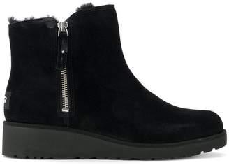 UGG zipped short boots