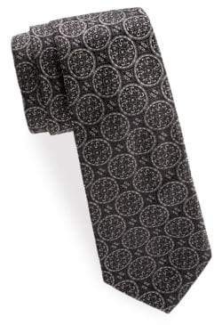 Saks Fifth Avenue Graphic Silk Tie