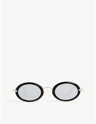Christian Dior Mini oval frame sunglasses