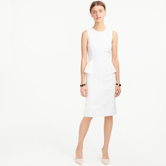 Linen peplum dress $168 thestylecure.com