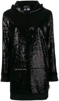 Philipp Plein hooded jumper dress