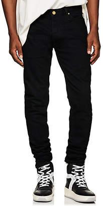 Fear Of God Men's Ankle-Zip Slim Jeans - Black