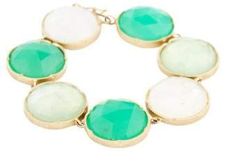 Irene Neuwirth 18K Multistone Link Bracelet