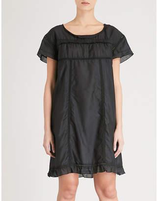 Bodas Montauk cotton and silk-blend nightdress