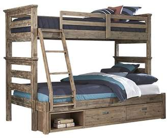 Viv + Rae Bryon Twin Over Full Bunk Bed with Storage