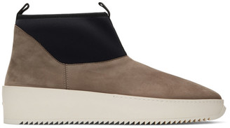 Fear Of God Brown and Black Polar Wolf Boots