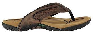 Karrimor Mens Lounge Flip Flops Sandals Strap Toe Post Leather Upper