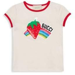 Gucci Little Girl's& Girl's Rainbow Tee