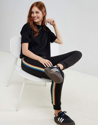 New Look Rainbow Tipping Jogger