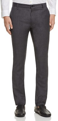 HUGO Heldor Stretch Wool Slim Fit Trousers $165 thestylecure.com