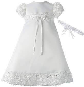 Keepsake Christening Dress and Headband Set - Baby Girls