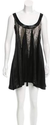 Sass & Bide Sleeveless Bead-Embellished Dress