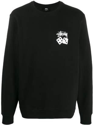 Stussy Dice print jumper
