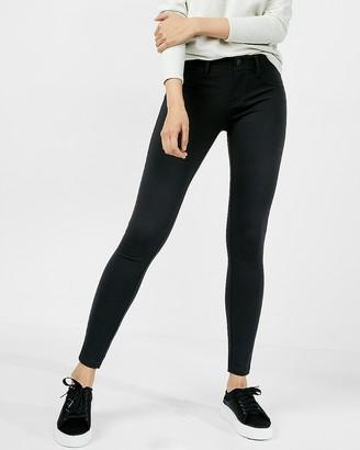 Express Ponte Knit Five-Pocket Pant