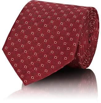 Salvatore Ferragamo Men's Gancio-Weave Silk Necktie