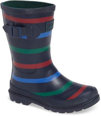 Joules Welly Print Waterproof Rain Boot