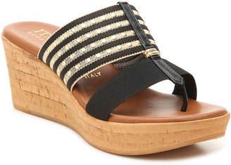 Italian Shoemakers Nami Wedge Sandal - Women's