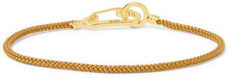 Mikia Cord And Gold-Tone Bracelet