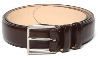 Paul Smith Leather Belt - Mens - Brown