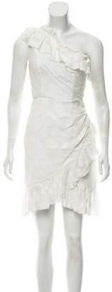 Ulla Johnson 2018 Textured One-Shoulder Dress